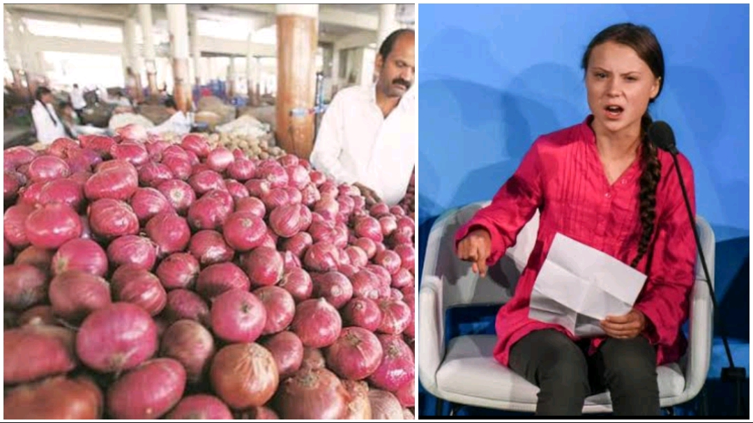 Greta Thunberg cancels her India visit after Onion price ...